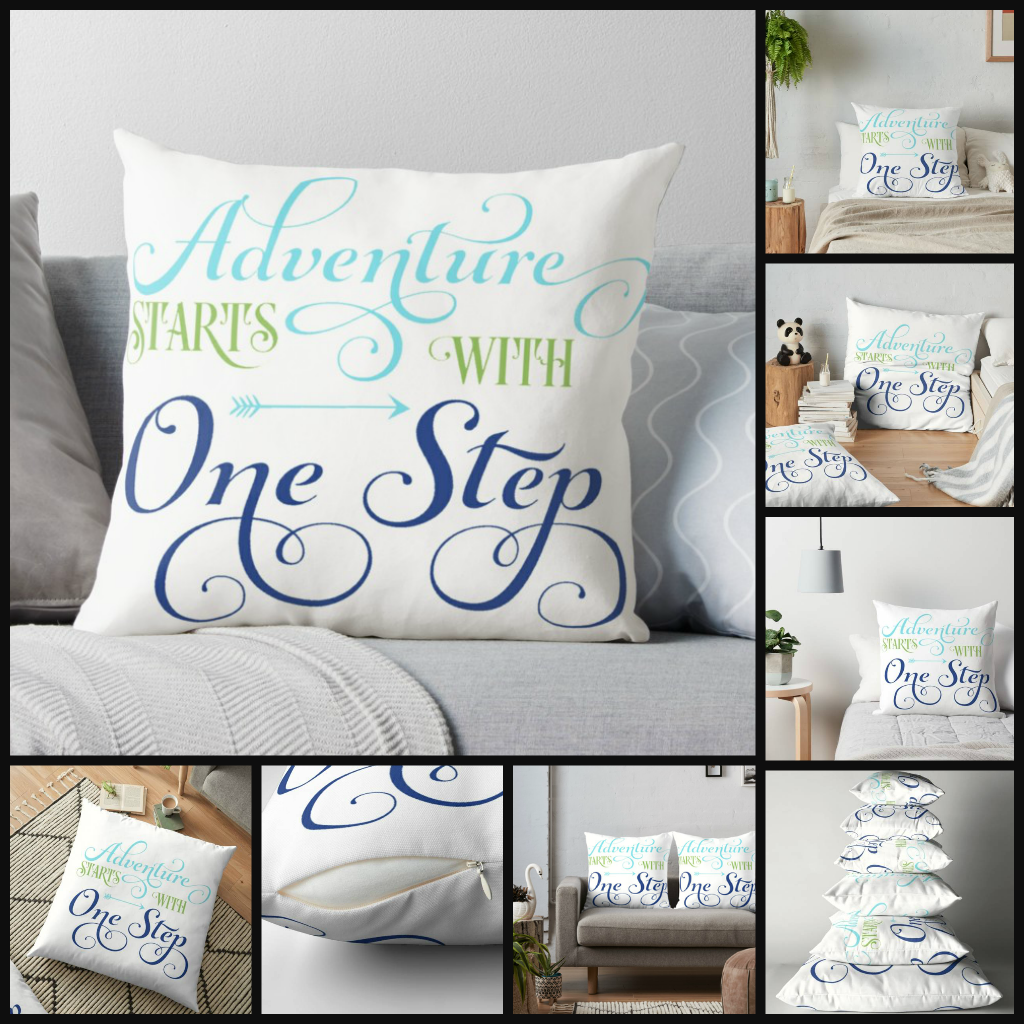 00.ADVENTURE-STARTS-WITH-ONE-STEP-pillows
