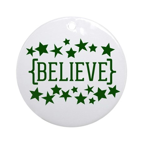 believe_stars_round_ornament