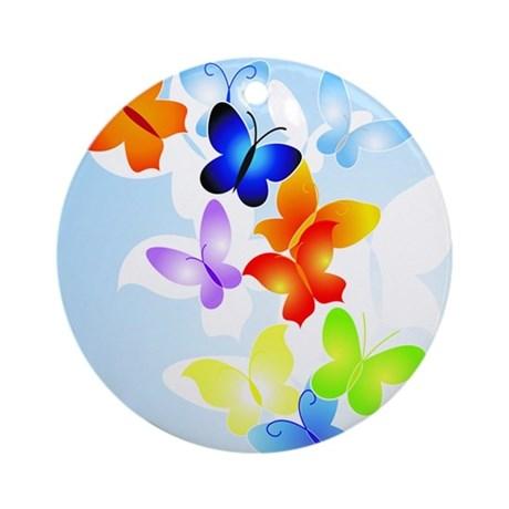 butterflies_1_ornament_round