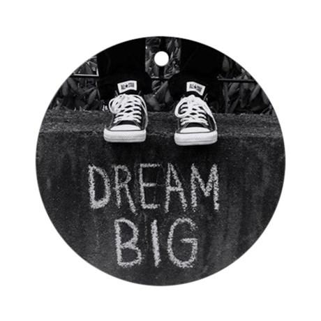 dream_big_ornament_round