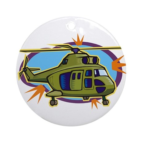 helicopter12_ornament_round