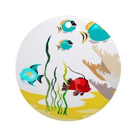 tropical_fish_ornament_round