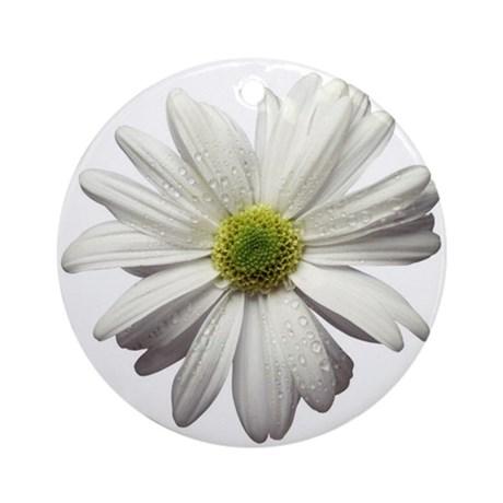 white_flower57_ornament_round